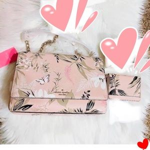 Brand New Kate Spade crossbody bag and Wallet